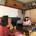 法華経寺参道の街づくりを学生目線でプレゼン、1年間の研究成果を商店会長にプレゼンテーション