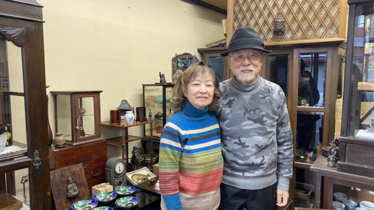 なかみせVol.39レトロな街「中山」にピッタリな骨董品のお店「ヴォーグ」、掘り出し物が見つかるお店