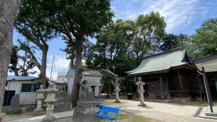 ぶらり中山:法華経寺近くにある「安房神社」
